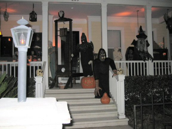 celebration florida trick or treaters