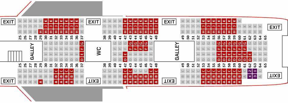 virgin seating plan