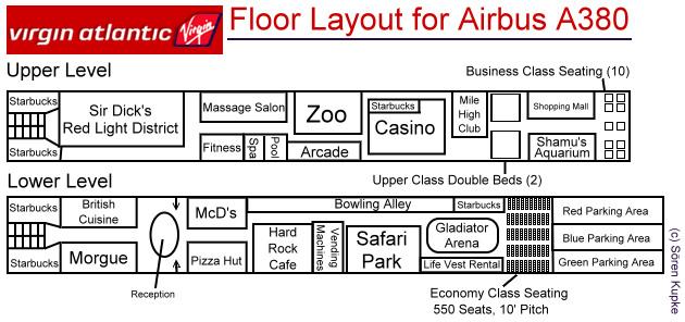 floorplan of virgin s new a380 super jumbo airbus a380 floor plan related keywords amp suggestions