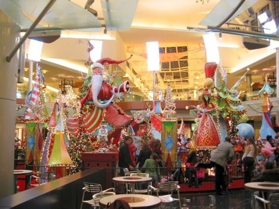 Santa S Arrival At Mall At Millenia