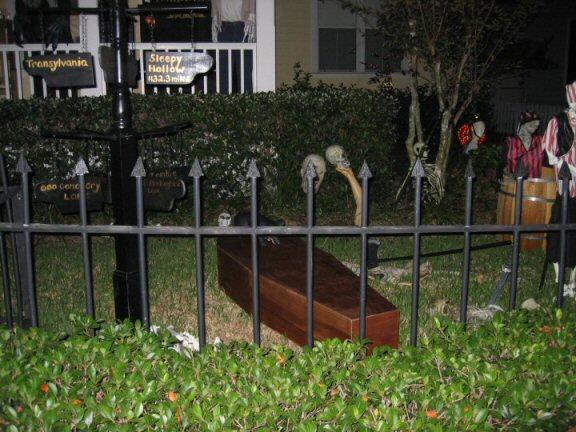 Celebration florida halloween home